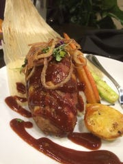 A new take on meatloaf from the Angry Cactus West Texas Bar & Grill