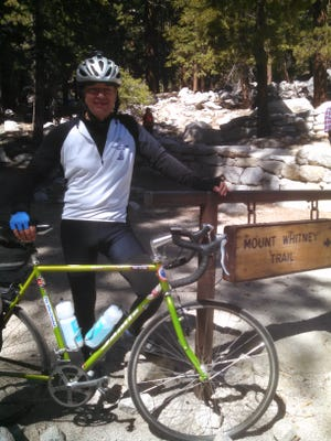Bill Zuppa of Montclair, at the conclusion of his most recent Georgie Caunt Memorial Ride, Sept. 2-4, 2016.