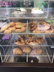 A variety of fresh-baked treats are served at the Sugarush Cafe in Red Bank.