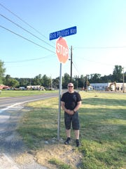 A street in Bendersville was named for former police officer Rick Phillips, who was injured in a high-speed chase in 2010.