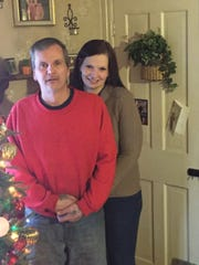 Gene Quinter and Dawn Forsythe, pictured on Dec. 17, credit methadone with helping them kick their heroin addiction and purchase this Wernersville home. They believe addicts will be more likely to stay sober if they are permitted to maintain their methadone regimen while in prison.