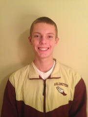 Arlington cross country runner Colin Waters