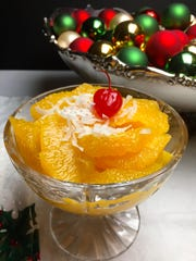 Old Fashioned Southern Ambrosia is a Christmas tradition for those who grew up in the South.