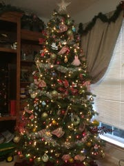 The Young family Christmas tree.