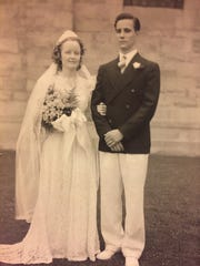 Ruth and John Sprague were married June 10, 1939, at