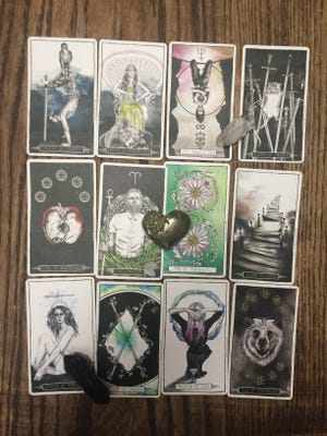 New weekly tarotscopes come out each Monday!