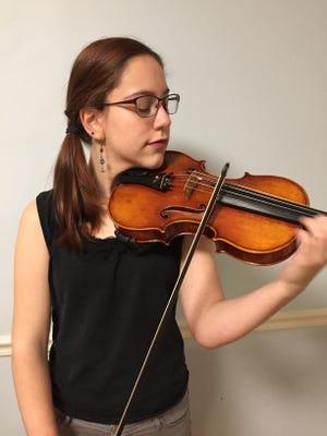 "Ernest Bloch's ""Nigun"" will feature 15-year-old violin soloist Sophia Klin."