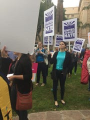 More than 40 advocacy groups rally at the Arizona Capitol