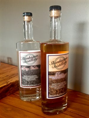 Some of the products offered at Skunktown Distillery.