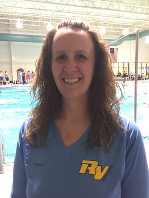 Elgin and River Valley swim coach Seri Linstedt