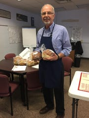 Chet Fery, finding purpose in baking bread for others.