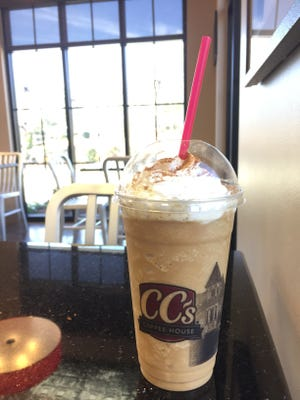 CC's Coffeehouse is offering a king cake Mochasippi, king cake latte and selling a king cake coffee blend. The store also offers king cakes in various flavors whole and by the slice.