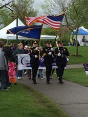 A previous Relay walk gets started in Canton's Heritage