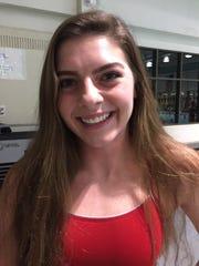 Ridgedale senior swimmer Jessica McCombs