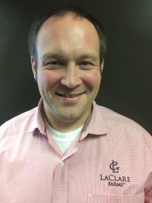 Greg Hedrich, business manager for LaClare Farms in Malone, Wis.