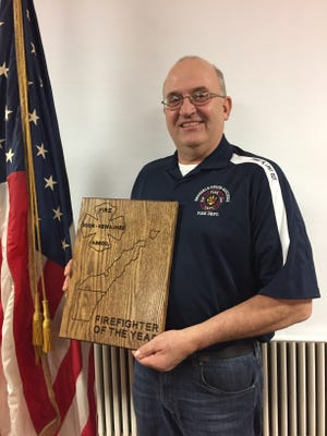 Jim Wautier, assistant chief of the Brussels-Union-Gardner Fire Department.