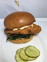 The Zinburger ATL burger, available through Feb. 5,