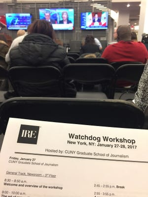 A watchdog journalism workshop is just what one reporter needed to recharge.