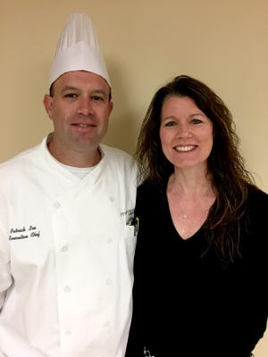 Patrick Lee is a chef and Holly Brennan is a Registered Dietician Nutritionist and Certified Dietician Nutritionist (RDN/LDN) for Wuesthoff Health System-Rockledge.