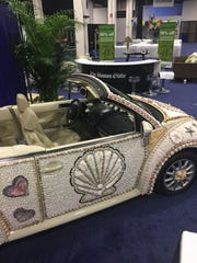 Lee County's Shell Love Bug is at the Boston Globe Travel Show this weekend, to help promote visits to the Beaches of Fort Myers & Sanibel.