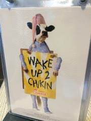 A Chick-fil-A sign at San Angelo's new Chick-fil-A store.