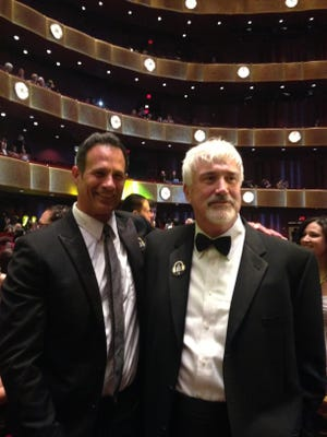 Dogfish Head founder Sam Calagione and the late Sussex County restaurateur Matt Haley in May 2014 at the James Beard Awards in New York's Lincoln Center. Calagione was been a frequent nominee for a James Beard medal. Haley is the only Delaware restaurateur to receive a Beard medal, considered one of highest honors in the restaurant industry.