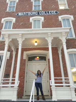 Maria Munguia, former Tutor Corps student with the Guadalupe Center in Immokalee, is now a college student at Wartburg College in Iowa. She plans to bring fellow students down to Immokalee later this month for an alternative spring break program to give back to community.