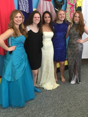 West Milford High School students are preparing for the 2017 Cinderella Project charity dress sale on Saturday. The sale, seen in this undated photo, has become an annual event.
