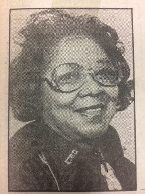 Juanita Gregory was the first black female officer on the Evansville police force. She died in 1989.