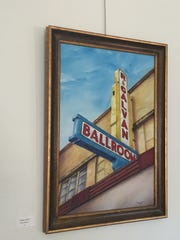 """""""Galvan Ballroom"""" will be on display at the Tri Group 53 exhibit."""