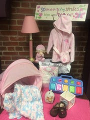 Any little girl is pretty in pink from bargain finds at The Garden Patch Thrift Shoppe at Greenhouse Ministries.