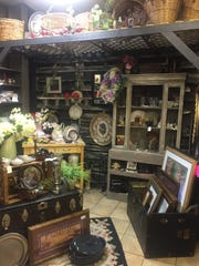 Furniture as well as decorative items can be found