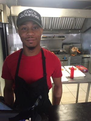 Zoc Johnson had to close his restaurant Wednesday. Power is back Tuesday, in time for the snowstorm