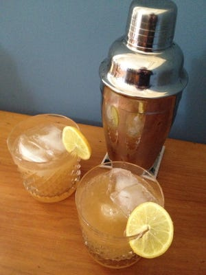 Substituting maple syrup for sugar can give a cocktail, such as this whiskey sour, a distinctive flavor.