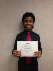 Victoriano Cooper won the piano solo division for grades 7 and 8 at the Texas Music Teachers Association's local Student Affiliate Performance Contest.