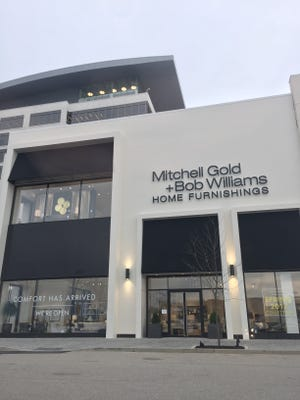 The Mitchell Gold and Bob Williams store is now open in the Kenwood Collection.