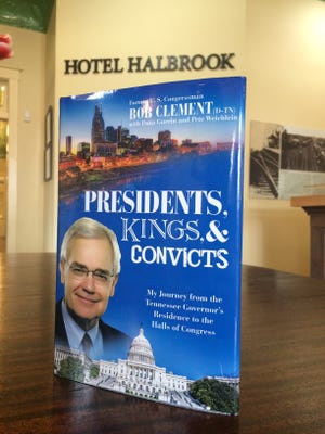 Bob Clement''s new book is set up to great visitors to the Clement Railroad Hotel Museum in  Dickson.