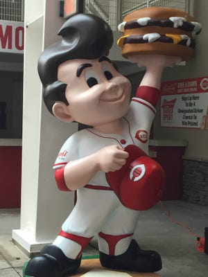 A new Big Boy sporting a bouffant debuts at Great American Ball Park.
