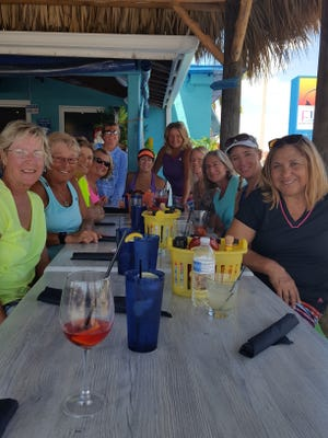 The Cape Coral Yacht & Racquet Club's 3.5 team finished in third place for the season.