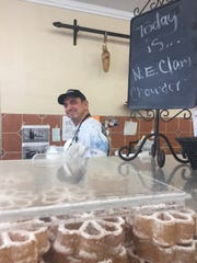 Dominic Mammoliti of Calabresella's Delicatessen in
