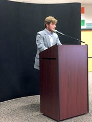 Abraham Jenkins was the moderator for Wednesday night's