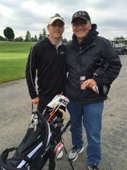 Yorktown golfer Brevin Smith and grandpa Dana Van Gets