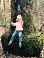 Photos of my daughters, then ages 2 and 6, in the Sumter