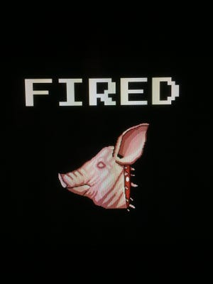When you lose one of Jeff Miller's custom meatpacking video games, you get fired.
