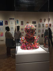 A bust envisioned by Lajachanae Minter, 16, who had