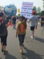 The People's Climate March in Washington, D.C., on
