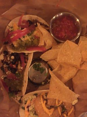 Tacos from Dakota Brick House.