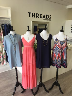 Brush up your wardrobe at Threads in Proper, a new boutique at 360 Gulf Breeze Parkway.