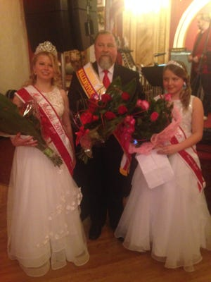 Emilia Dabek, Stanley Baginski and Alexandra Dudek are this year's Wallington contingent in the Pulaski Day parade.