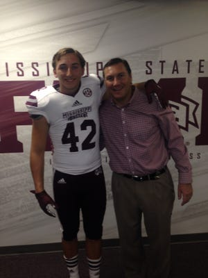 Tucker Day was an All-American punter signee for MSU in February.